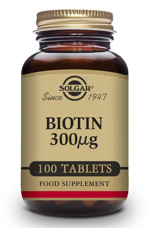 Biotina 300 µg Solgar