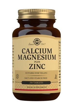 Calci Magnesi Plus Zinc Solgar 250 comp