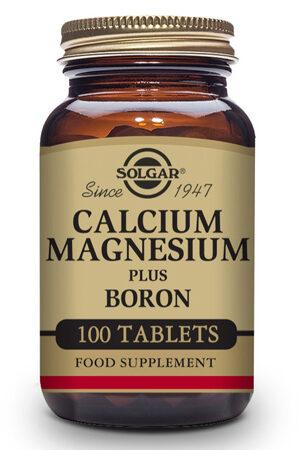 Calci / Magnesi plus Bor Solgar – 100 Comp