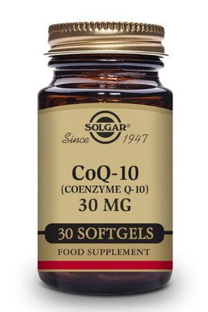 Coenzima Q-10 30 mg Solgar 30 perlas
