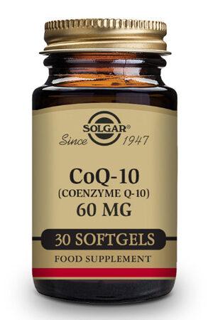 Coenzima Q-10 60 mg en aceite Solgar 30 Perlas
