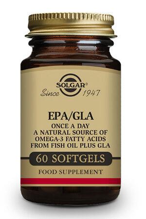 EPA / GLA Solgar – 60 perles