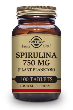 Espirulina 750 mg (Plancton) Solgar