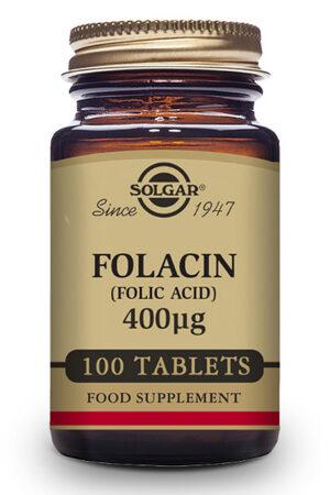 Folacín Solgar – 100 Comp