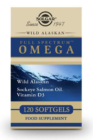 Full Spectrum Omega – Oli de Salmó Salvatge d'Ales