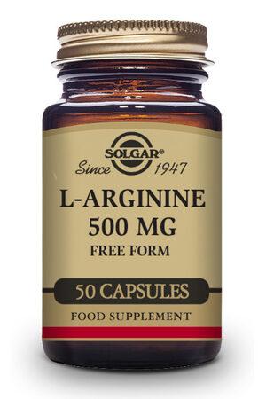 L-Arginina 500 mg Solgar