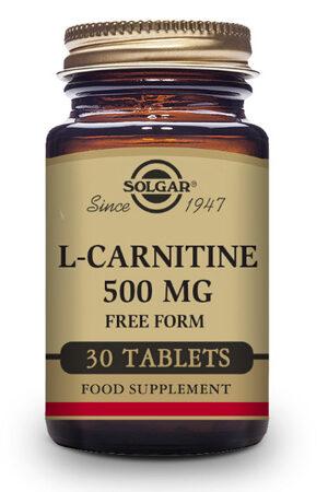 L-Carnitina Solgar – 30 Comp