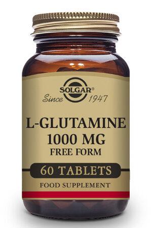 L-Glutamina 1000 mg Solgar – 60 Comp