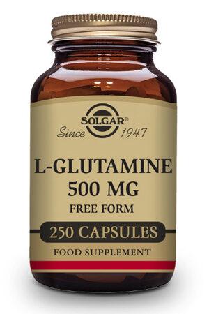 L-Glutamina 500 mg Solgar – 250 Comp