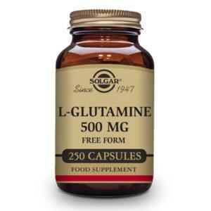 L-Glutamina 500 mg - 250 Cáps