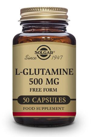 L-Glutamina 500 mg Solgar- 50 Comp
