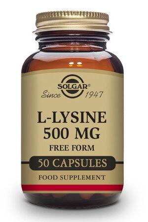 L-Lisina 500 mg Solgar