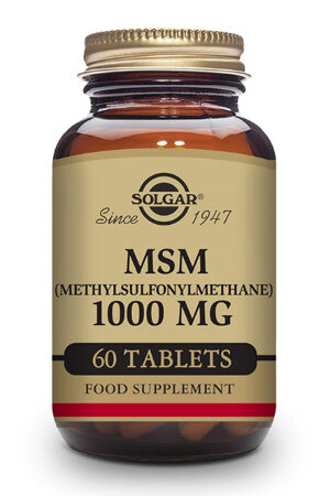 MSM 1000 mg Solgar