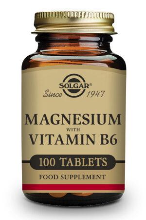 Magnesi + Vitamina B6 Solgar