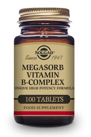 Megasorb Vitamina B-Complex 100 Comp