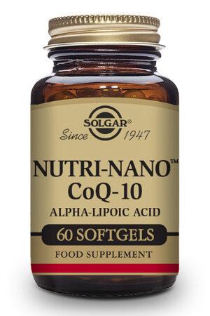 Nutri-NanoTM CoQ-10 con Ácido Alfa-Lipoico
