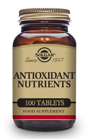 Nutrients Antioxidants Solgar – 100 Comp