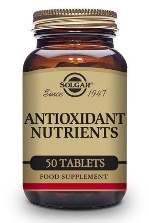 Nutrients Antioxidants Solgar – 50 Comp
