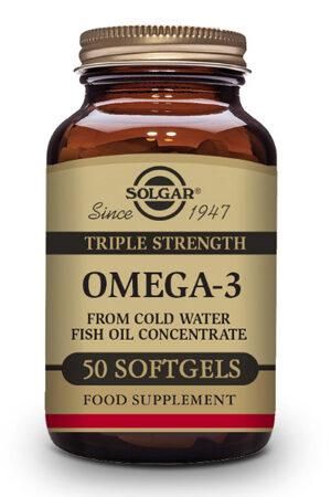"""Omega-3 """"Triple Concentració"""" Solgar – 100 perles"""