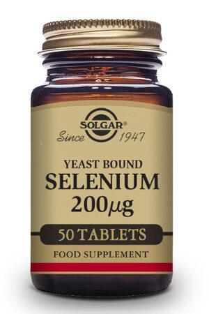 Seleni en llevat 200 µg Solgar