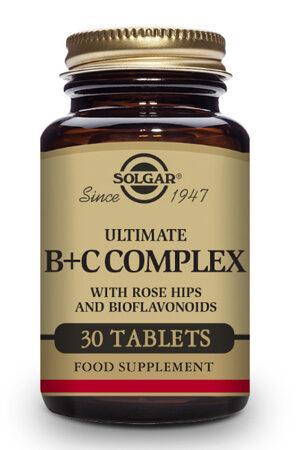 Ultimate B + C Complex Solgar