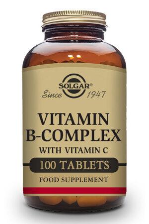 Vitamina B-Complex Solgar – 100 Comp