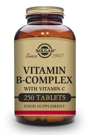 Vitamina B-Complex Solgar – 250 Comp