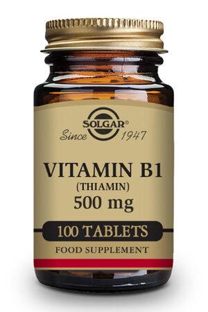 Vitamina B1 500 mg (Tiamina) Solgar