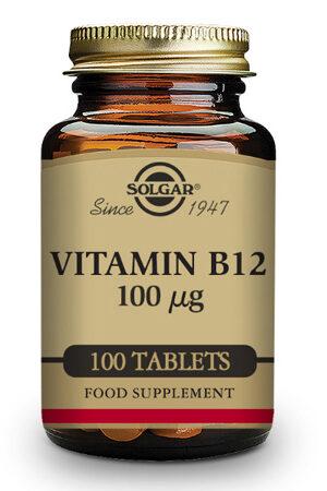 Vitamina B12 Solgar 100 μg