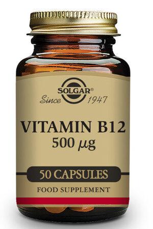 Vitamina B12 Solgar 500 μg