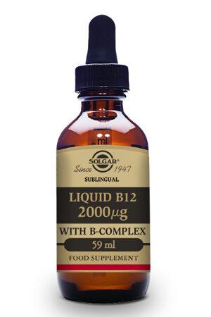 Vitamina B12 Líquida Solgar
