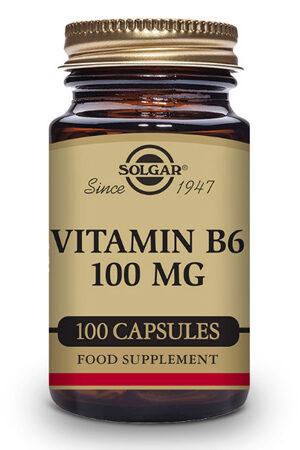 Vitamina B6 100 mg Solgar