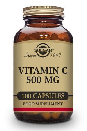 Vitamina C 500 mg Solgar