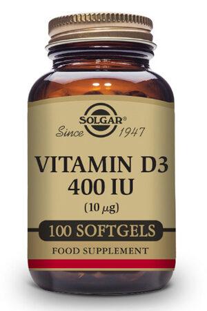 Vitamina D3 400 UI Solgar