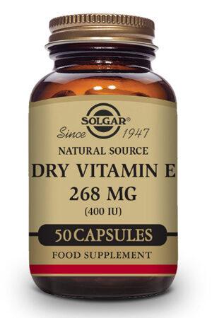 "Vitamina E ""Seca"" 400 UI Solgar 50 caps"