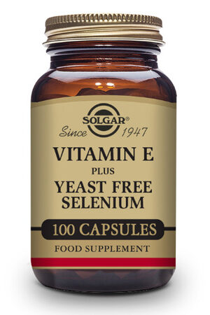 Vitamina E amb Seleni Solgar 100 Cáps