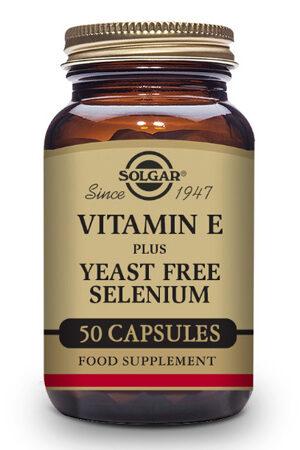 Vitamina E amb Seleni Solgar 50 Caps.