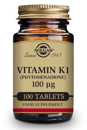 Vitamina K1 Solgar