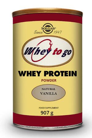 Whey To Go proteïna de sèrum vainilla 907 g