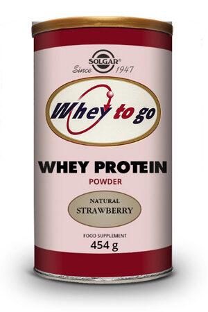 Whey To Go Proteïna de sèrum fresa 454 g
