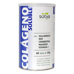 Col·làgen amb Hialurònic, MSM, Condroitina, Magnesi, Vitamina C Sotya