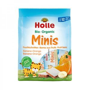 Barretes mini de plàtan i taronja Holle