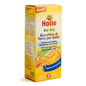 Galetes d'espelta ecològiques per a nens Holle