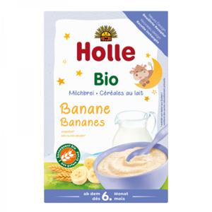 Farinetes de Farina de blat i plàtan amb llet Holle