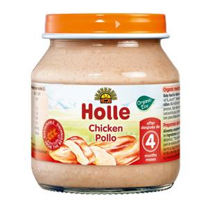 Potet de carn de pollastre 100% ecològica Holle