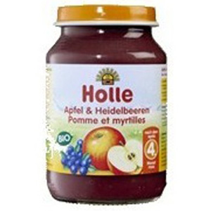 Potet de poma i mirtil ecològic Holle