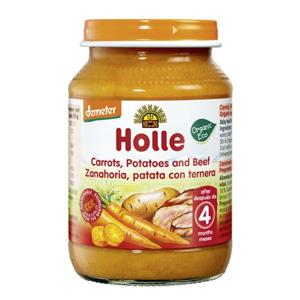 Potet de pastanaga, patata i vedella ecològic Holle