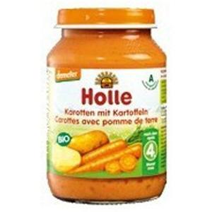 Potet de pastanaga i patata ecològic Holle