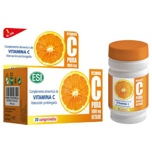 Vitamina C Pura Retard Esi 30 compr