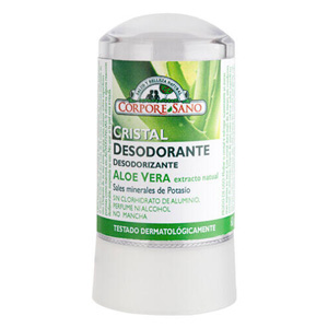Deo Cristal Mineral Protector Corpore Sano Potassium Alum i Aloe Vera